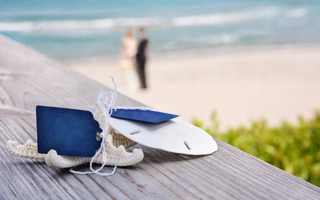 Segnaposto naturali per un matrimonio in riva al mare: 3 idee a cui ispirarvi