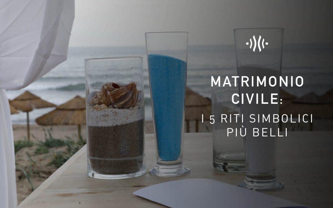 Matrimonio civile: i 5 riti simbolici più belli