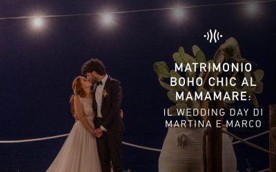 Matrimonio boho chic in spiaggia: il wedding day di Martina e Marco