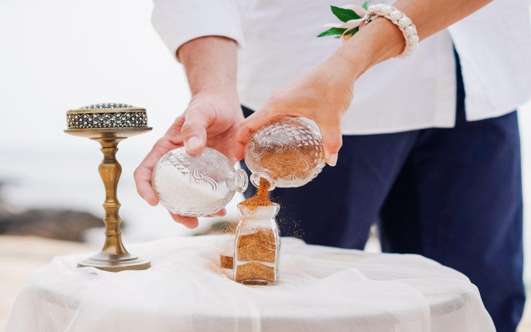 Matrimonio con cerimonia simbolica in spiaggia: 5 fasi da seguire